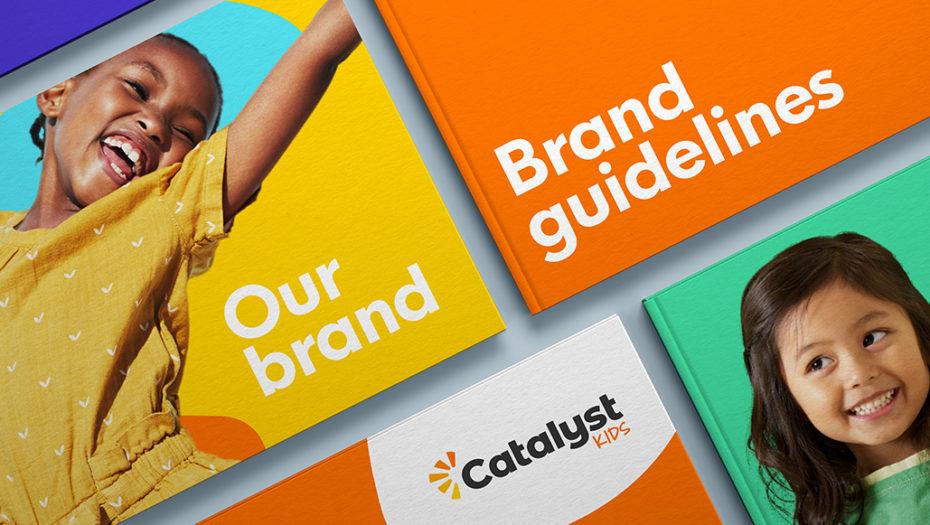catalyst kids brand design guidelines